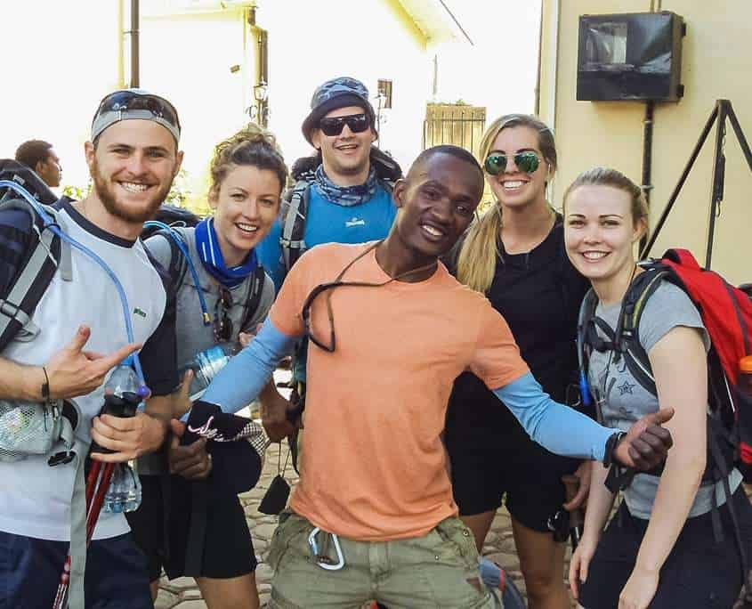 We have one of the best crews on Kilimanjaro