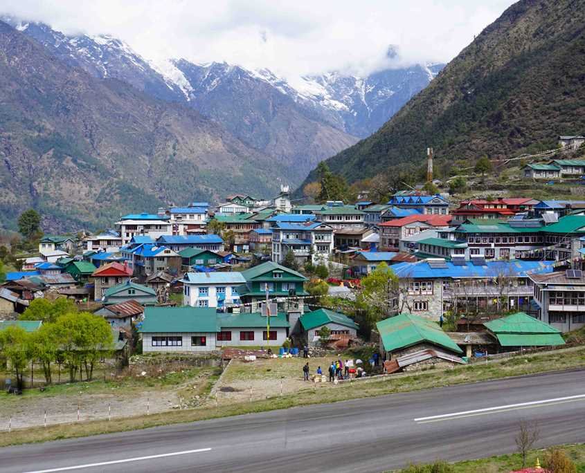 Lukla is the village that you fly into when starting an Everest Base Camp trek