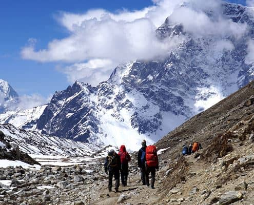 Trekking to Everest Base Camp in Nepal