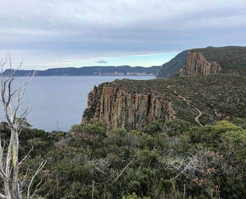 Beautiful coastal views at Cape Hauy on the Three Capes Track