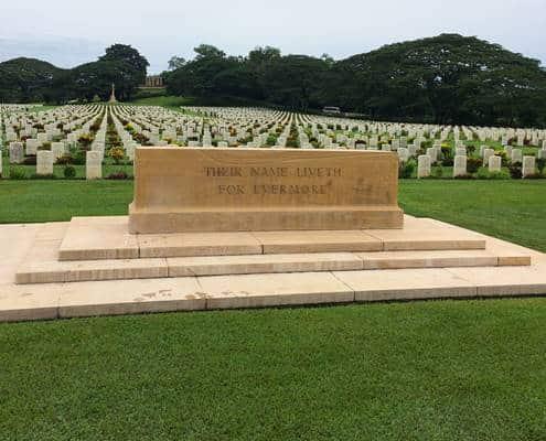 Bomana War Cemetery in Papua New Guinea