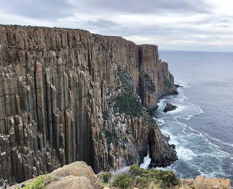 Cape Raoul on the Three Capes Track in Tasmania
