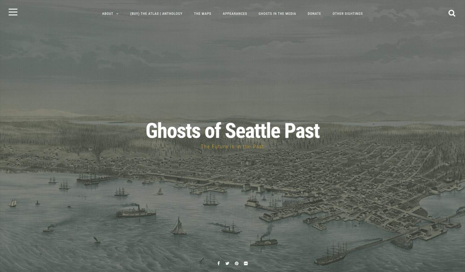 Ghosts of Seattle Past screenshot Vintage Seattle Archives historic seattle photos