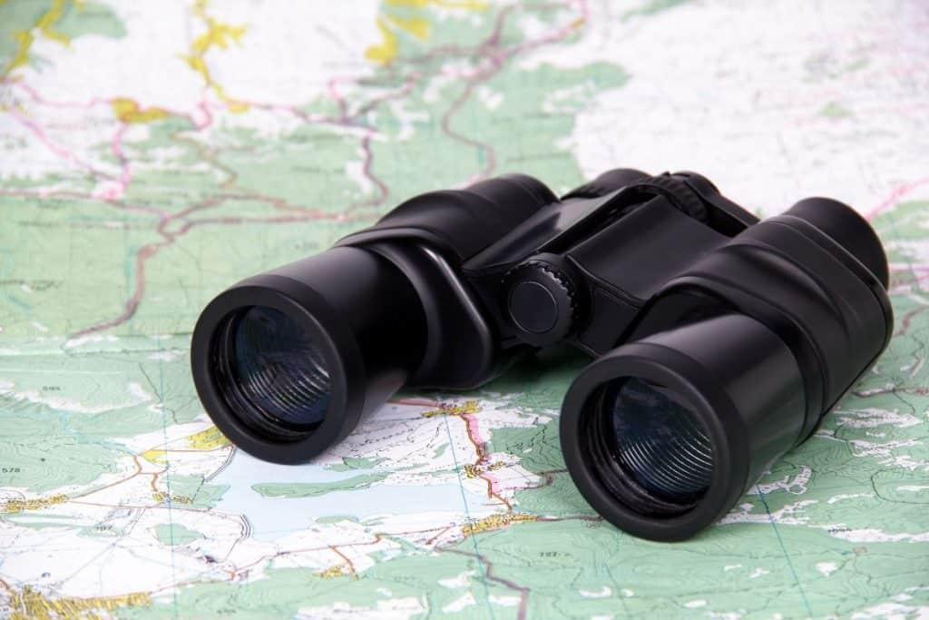 Hunting Binoculars Buying Guide Map