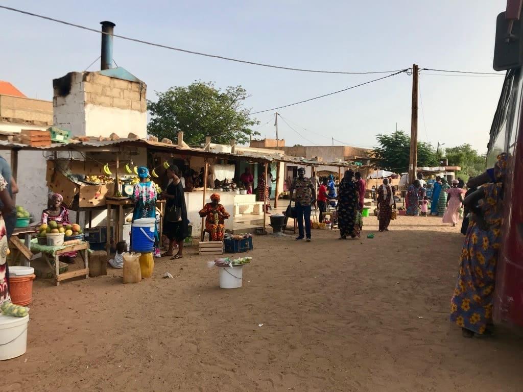 La sosta del Senegal Dem Dikk