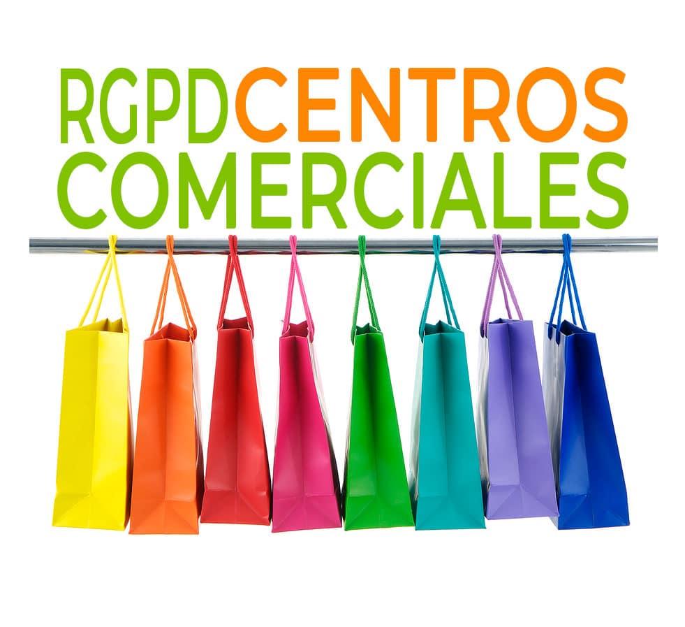 LOPD RGPD CENTROS COMERCIALES ESPAÑA