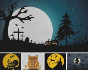 Halloween painted rocks ideas