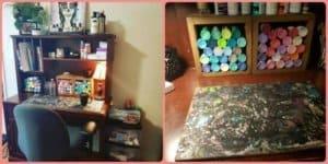 rachel's workspace