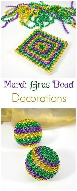 mardi gras bead balls