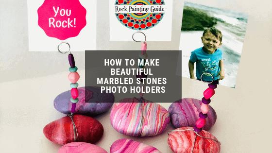 stone photo holders