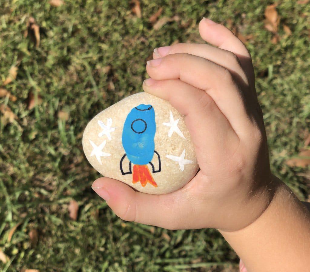 rocket stone