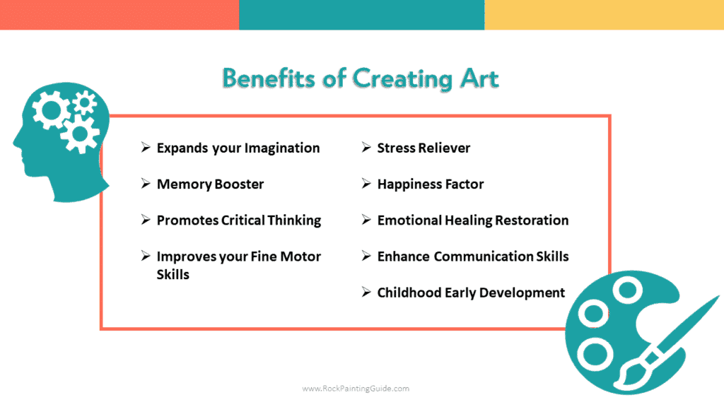 benefits of creating art