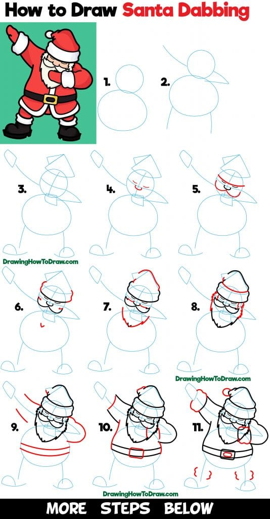 howtodraw-santa-claus-dabbing-easy-stepbystep-drawing-tutorial-kids
