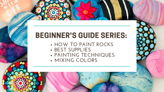 how to paint rocks