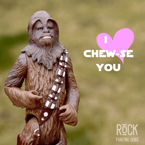 Chewy from star wars love quote