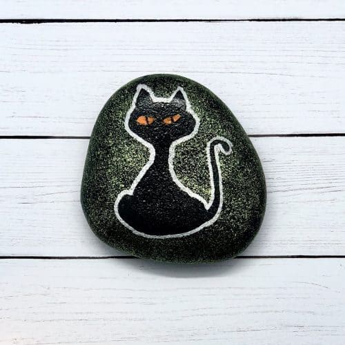 halloween rock painting ideas for kids