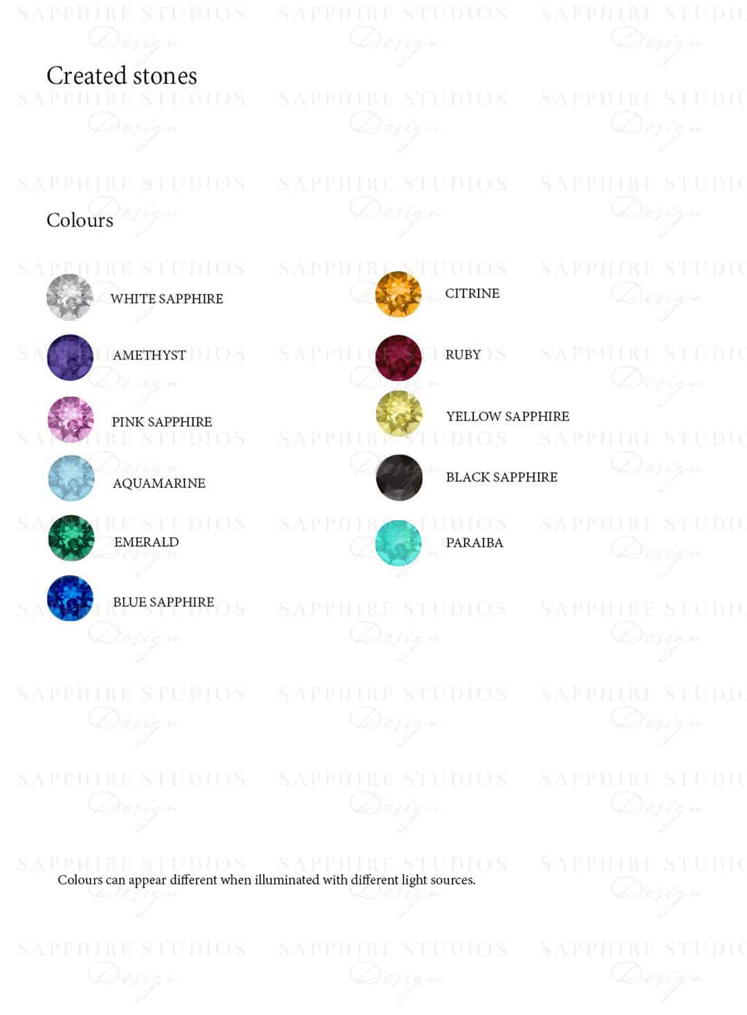 created-stones