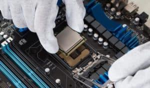 wymiana procesora, wymiana części koputerowych
