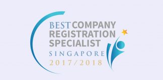 Best Company Registration Specialist of the Year in Singapore