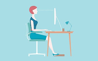 Our occupation and our increasingly sedentary lifestyles can lead to back pain because of poor posture.