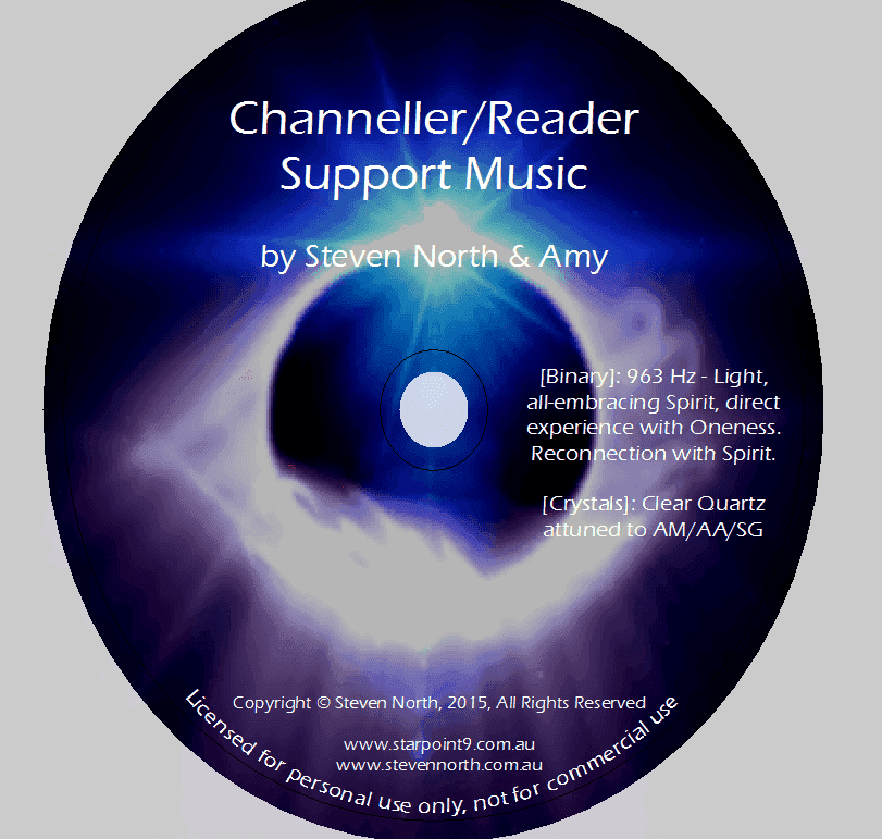 Channellers & Readers Support Music