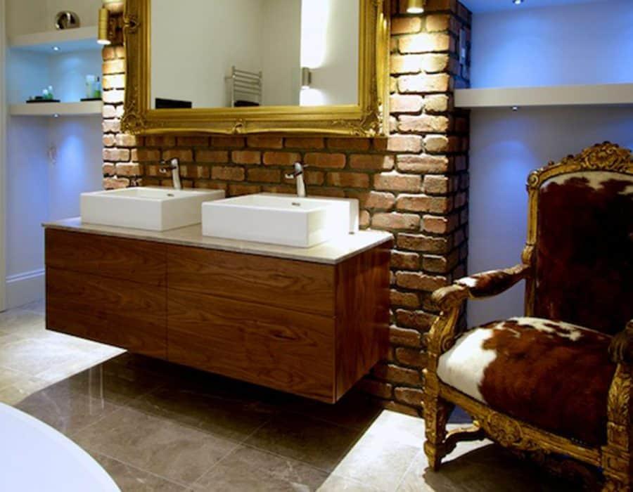 Image: Luxury Bathroom Hove with Bespoke Vanity