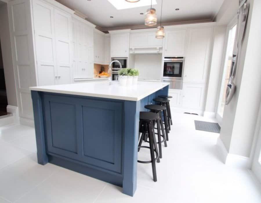 shaker panelled kitchen