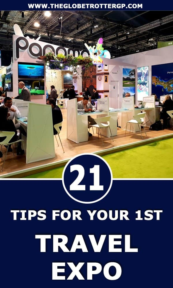 Tips for bloggers for your first travel trade fair. How to score press trips and fam trips and network like a pro. Networking tips | Travel exhibition tips | blogging tips