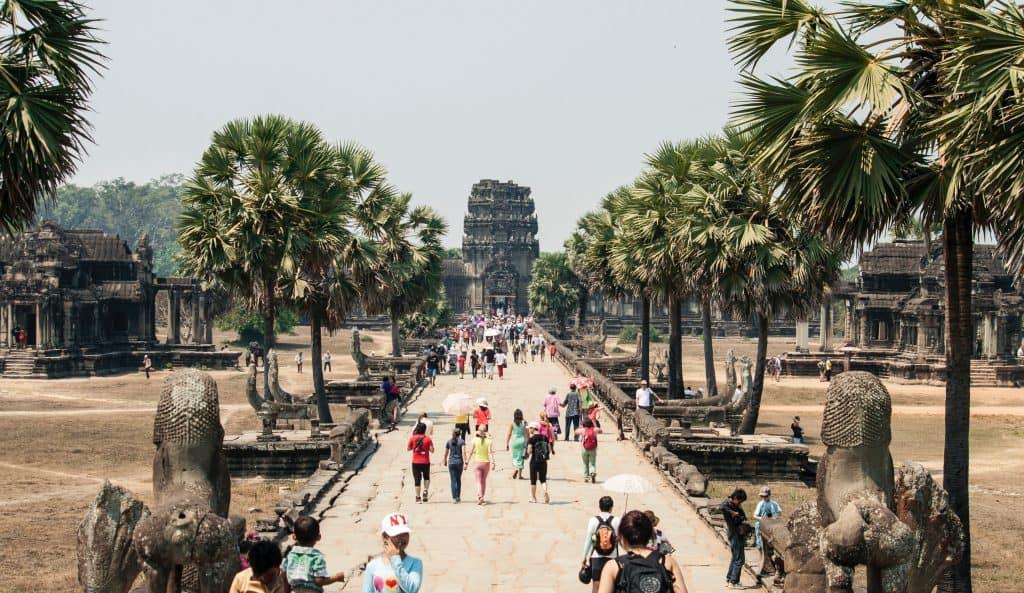 angkor wat on cambodia and vietnam tour
