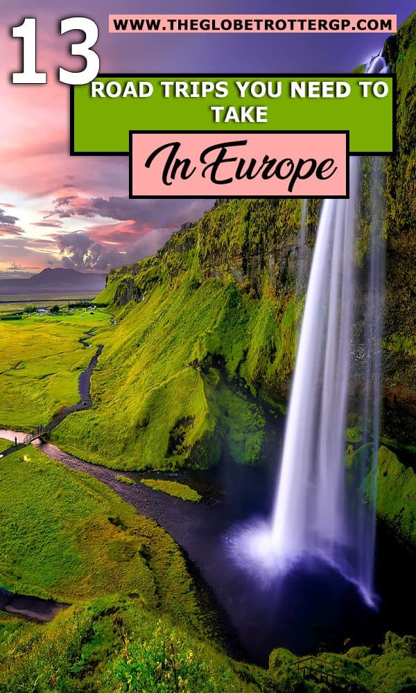 13 Europe Road Trip Itineraries to Inspire your Europe travel plans. You will get plenty of Europe travel inspiration for these road trips in Europe stopping off at many European highlights. From Italy road trips to Iceland road trips, there's bound to be a European road trip here to suit you #europeroadtrip #europetravelinspiration