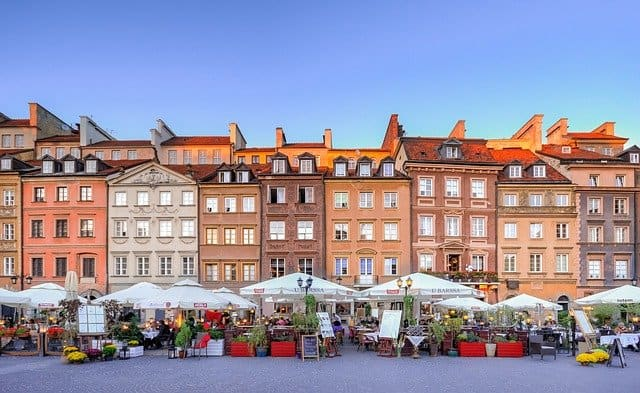 europe road trips warsaw poland old town