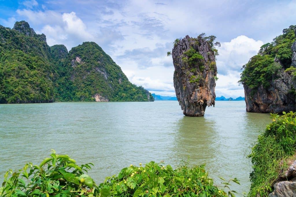 james bond island - a day trip from phuket, thailand