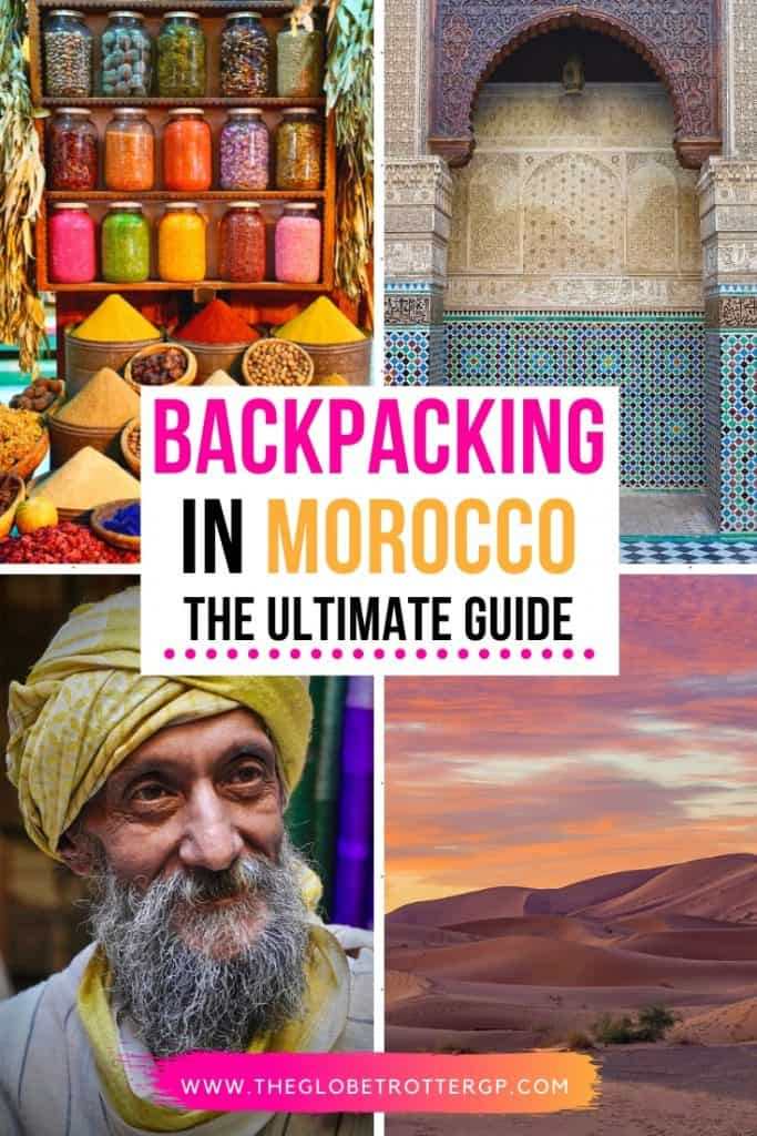 backpacking in morocco pin 1