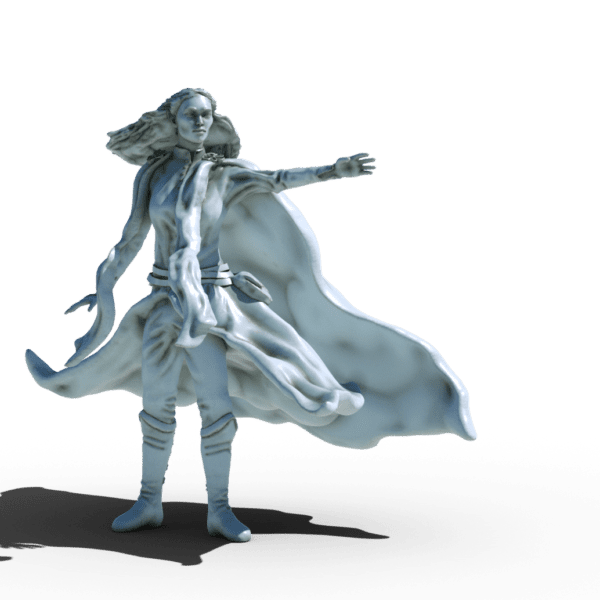 elf sorceress 3d printable tabletop miniature