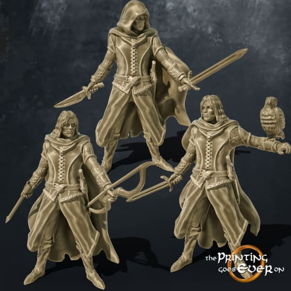 rangers 3d printable tabletop miniatures