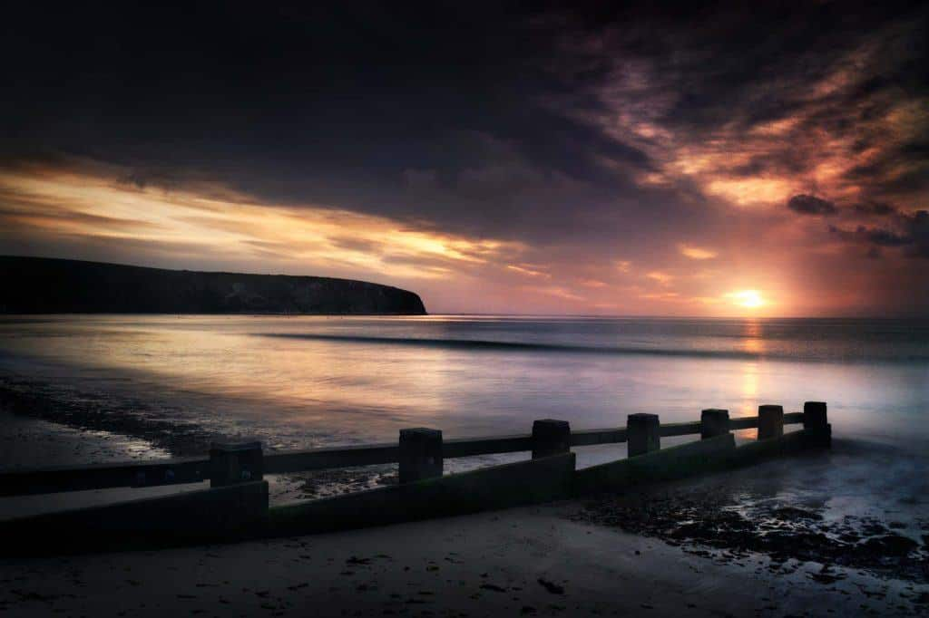 Swanage Bay at dawn, Dorset