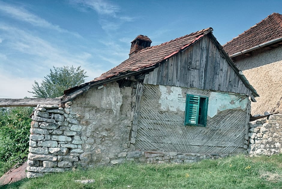 House in rural Romania