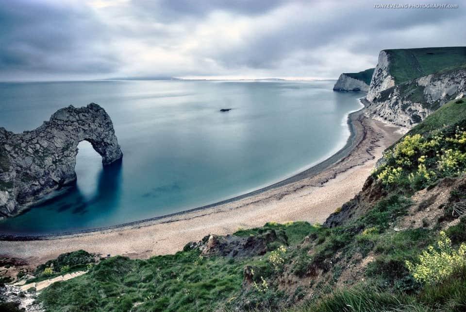 Durdle Door, natural rock formation along the Dorset coast, England, UK