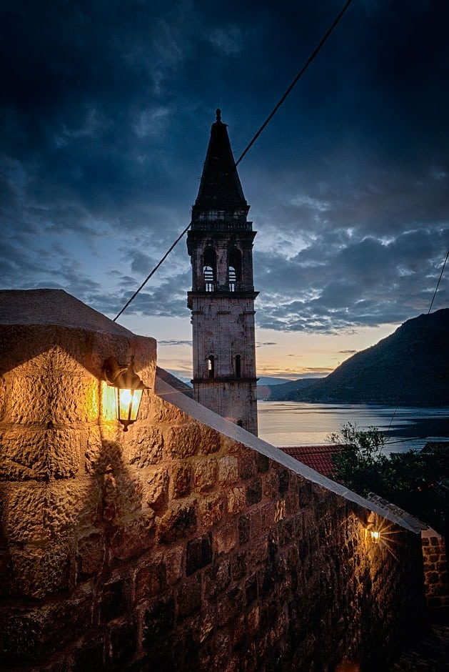 Small town of Perast, Bay of Kotor, Montenegro