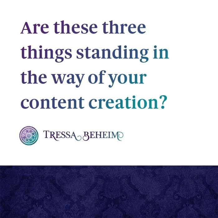 When content creation is a challenge, it's easy to blame lack of inspiration or lack of time. Let's look at three reasons why it can be so hard.