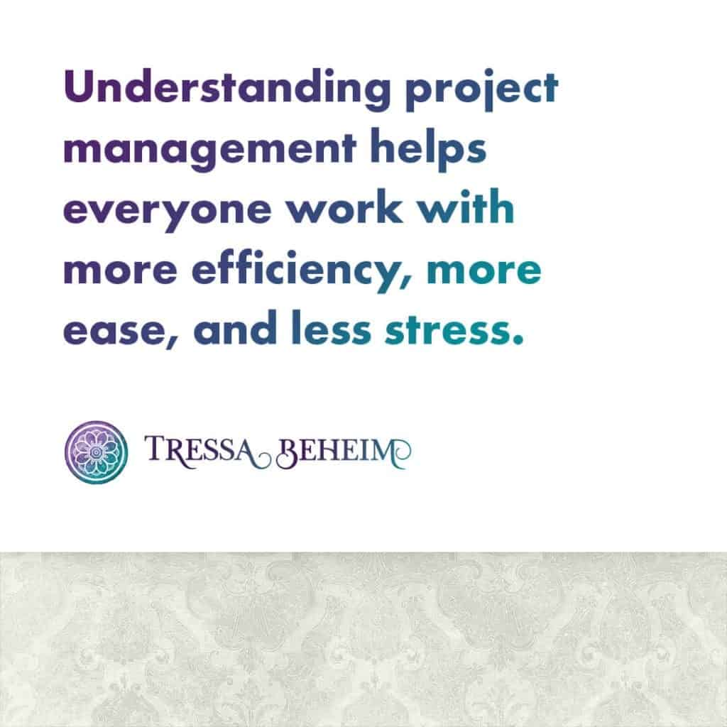 Running an efficient business means making sure the key elements of project management are handled. Here are a few you can use with your clients.