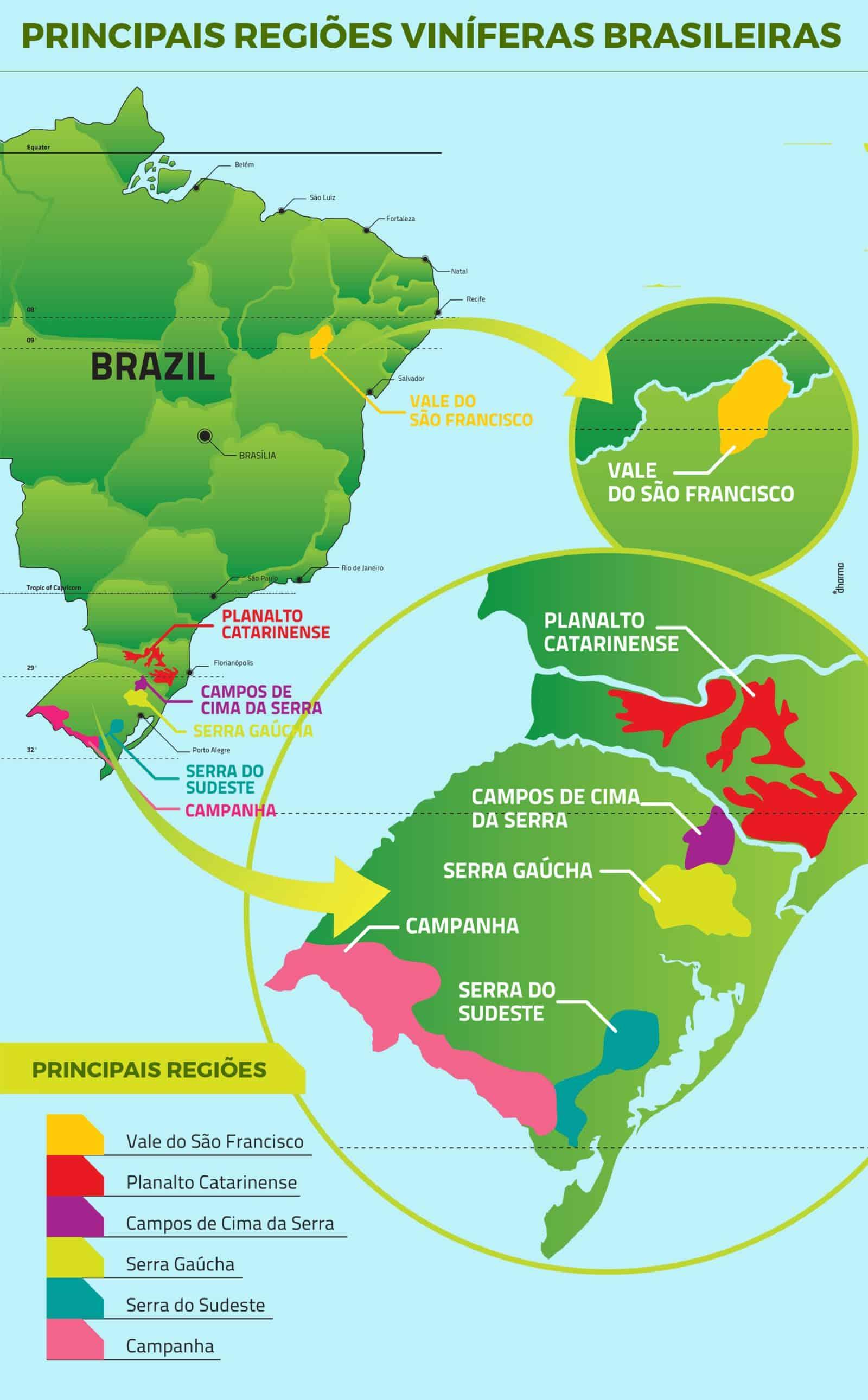 Fonte: WakeUpTheBrazilianInYou / Wines Of Brazil.