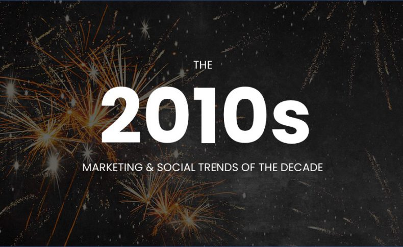Farewell 2010s: A Lookback at the Marketing & Social Trends of the Decade