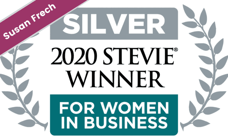 Our CEO Susan Frech is Two-time Winner of Silver® Stevie Award