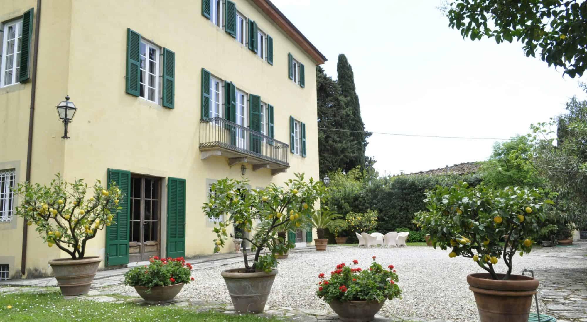 Villa Pedone, Tuscan villa