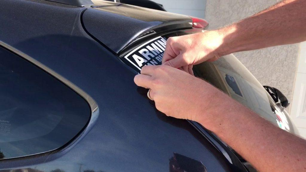 How to Remove Stickers from Windshield | CarCareHunt