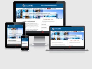 responsive Webdesign Detektei acinus GmbH