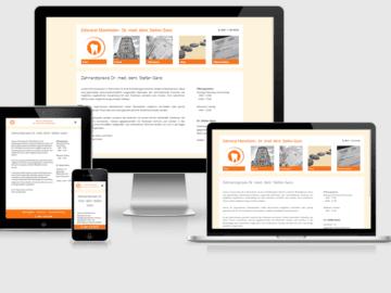 responsive Webdesign Dr. Ganz, Mannheim