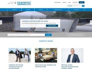 responsive Webdesign ESSERTEC GmbH