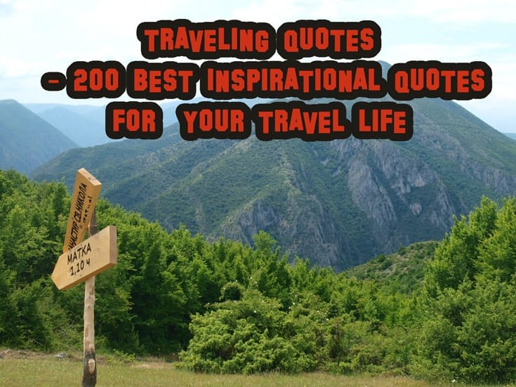 traveling quotes inspiration